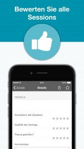 webinale Mobile App - Feedback