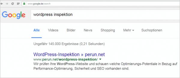 Abb 2 Seitentitel URL Und Die Beschreibung In Den Suchergebnissen