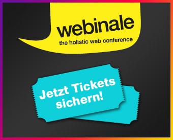 webinale – the holistic web conference