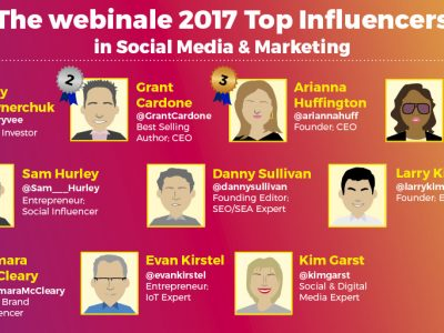 Top 10 webinale influencers